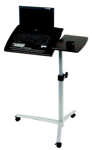 Laptoptisch höhenverstellbar ? Laptop Tisch ? MDF kunststoffbeschichtet ? Stahl pulverbeschichtet