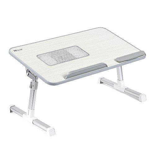 2017 - Laptoptisch Bett mit USB Lüfter ? ? Laptoptisch mit Lüfter ? Alu ? PA Nylon ? Grau ? 2 kg