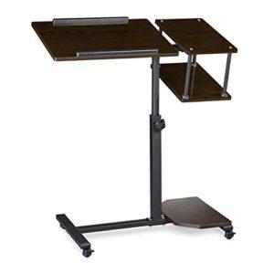 Laptoptisch höhenverstellbar - Relaxdays Laptoptisch ♥ MDF Platten ♥ Stahl ♥ schwarz oder creme ♥ 8 kg