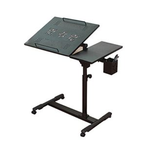 Laptoptisch Bett mit Lüfter ♥ Laptoptisch Tragbar ♥ Schwarz ♥
