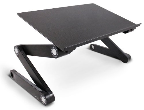 2017 - Laptoptisch Bett - Lavolta Ergonomisch Laptop Ständer ? Alu ? Schwarz ? 1,6 kg