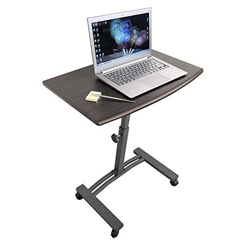 2017 - Laptoptisch höhenverstellbar ?Tatkraft Salute Laptoptisch mit 4 Räder ? Metall ? 6 kg