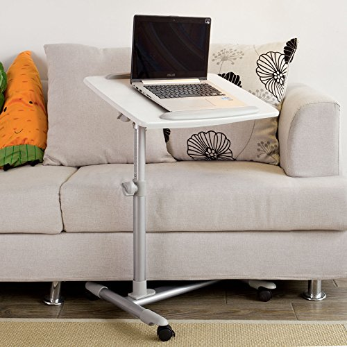 laptoptisch h henverstellbar und mit rollen auswahl 2018. Black Bedroom Furniture Sets. Home Design Ideas